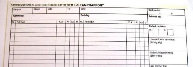 Kamprapport