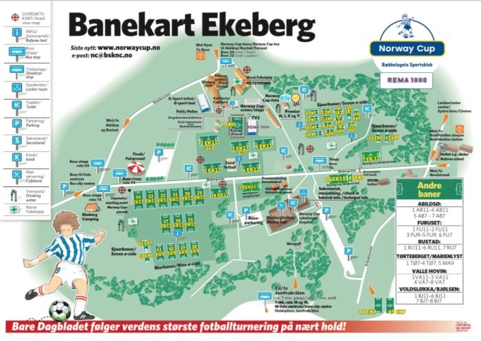 Banekart Ekeberg