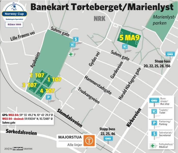 Banekart Tørteberget&Marienlyst