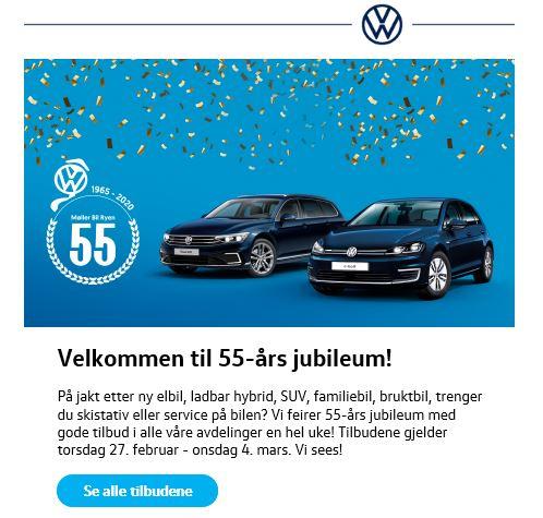 VW 55 år
